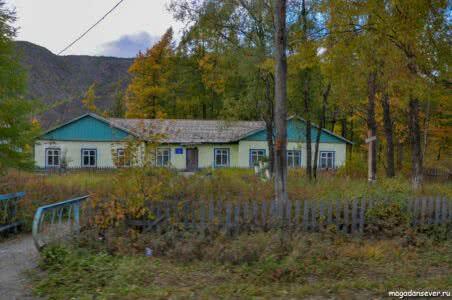 п. Мадаун, дома