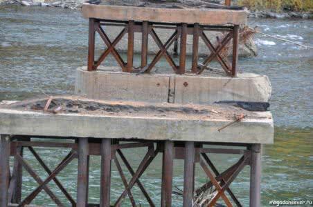 Старый мост через Нелькобу