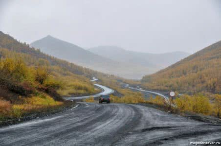 Тенькинская трасса, рудник им. Матросова