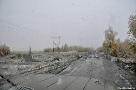 Тенькинская трасса, поворот на Кулу