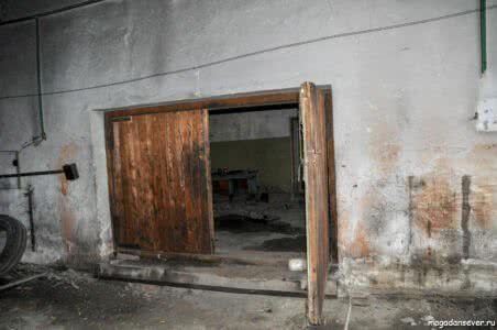 п. Кулу, гараж котельной