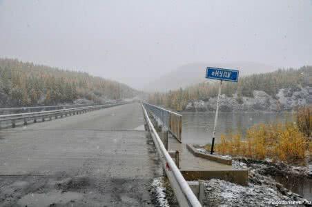 Тенькинская трасса, река Кулу