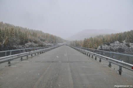 Тенькинская трасса, мост через Кулу