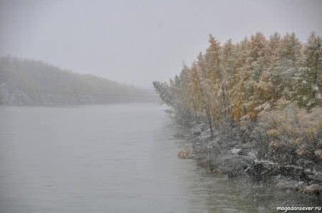 Тенькинская трасса, р. Кулу