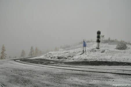 Тенькинская трасса, на перевале Гаврюшка