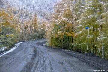 Тенькинская трасса, перевал Гаврюшка, 433 км