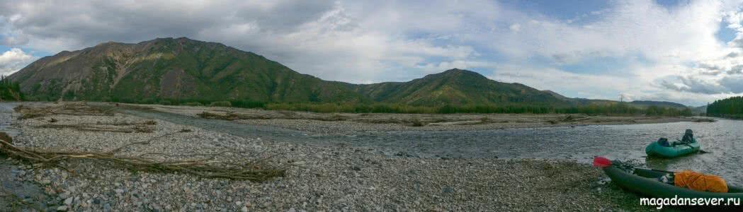 Панорама р. Иганджа. Фото Сергея Я.