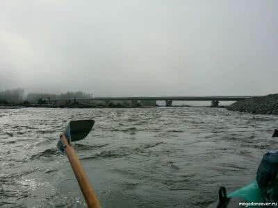 Мост через р. Армань