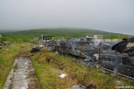 Развалины птицефабрики Северная